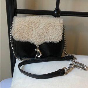 Rebecca Minkoff Stella Shearling Crossbody Bag